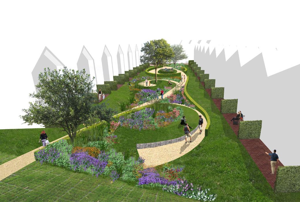visualisatie-binnentuin_Wonen Zuid_Area-M